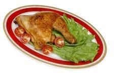 Chicken leg Stock Image