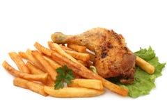 Chicken leg Royalty Free Stock Photos
