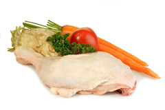 Chicken leg Royalty Free Stock Images