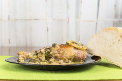 Chicken leg braised Royalty Free Stock Images