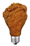 Chicken leg bulb Stock Photos