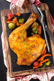 Chicken leg. Royalty Free Stock Photo