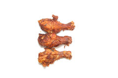 Chicken leg fried Royalty Free Stock Images