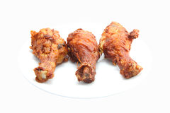 Chicken leg fried Royalty Free Stock Photography