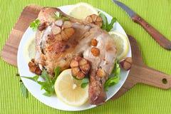 Chicken leg Stock Photos