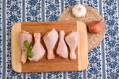 Chicken leg pieces Royalty Free Stock Photos