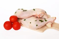 Chicken legs. Healthy and diet chicken meat Stock Photo