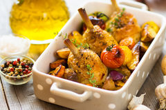 Chicken legs Stock Images