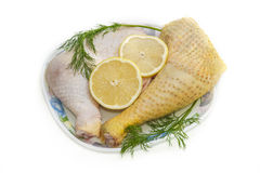 Chicken legs, poultry Stock Image