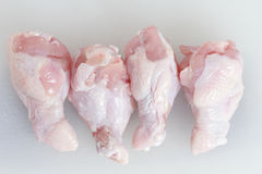 Chicken legs raw Royalty Free Stock Photography