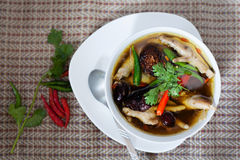 Chicken legs spicy soup Royalty Free Stock Photo