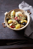 Chicken,lemon and olive Tajine Royalty Free Stock Image