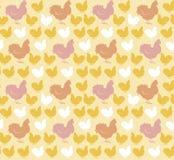 Chicken light  pattern Royalty Free Stock Photo