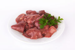 Chicken Liver Royalty Free Stock Photo