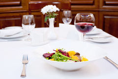 Chicken Liver and Beet-Root Salad Royalty Free Stock Image