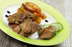 Chicken Liver Stock Photos