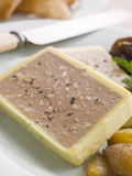 Chicken Liver and Foie Gras Parfait Royalty Free Stock Photo