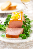 Chicken liver pate Stock Images