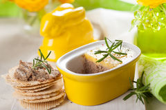 Chicken liver pate Stock Photos