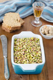 Chicken liver pate with pistachios Stock Images
