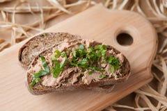 Chicken liver pate Stock Photos