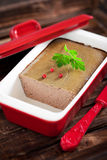 Chicken liver pate Stock Image