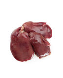 Chicken Liver. Raw chicken liver, close up royalty free stock photography