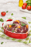 Chicken liver Stock Photography