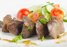 Chicken livers Royalty Free Stock Photography