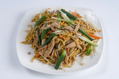 Chicken lo mein Royalty Free Stock Photos