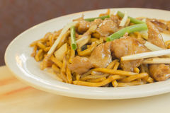Chicken Lo Mein Royalty Free Stock Photo