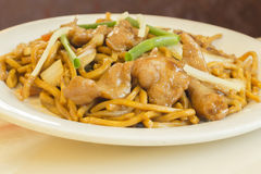 Chicken Lo Mein Royalty Free Stock Image