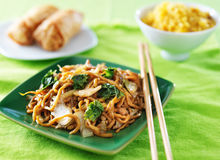 Free Chicken Lo Mein Chinese Food Stock Photo - 43241920