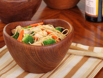 Chicken Lo Mein Meal Stock Photography