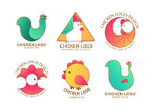 Chicken logo Royalty Free Stock Photos