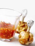 Chicken lollipops Royalty Free Stock Image