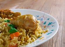 Chicken Machboos Stock Images