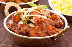 Chicken madras Stock Image