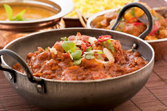 Chicken madras Stock Photos