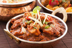 Chicken Madras royalty free stock photo