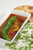 Chicken Madras curry Stock Photo