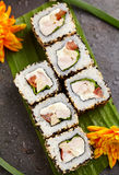 Chicken Maki Sushi Roll Royalty Free Stock Photography