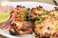 Chicken Malai Tikka Royalty Free Stock Photography