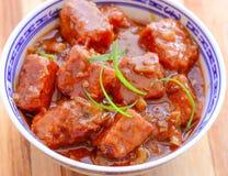 Chicken Manchurian Stock Photos