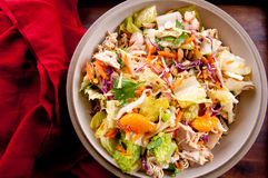 Chicken mandarin salad Stock Photography