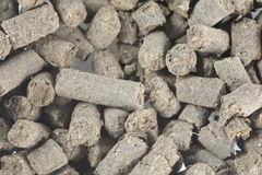Chicken Manure Pellets Stock Photo