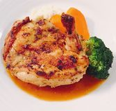 Chicken @ mariner of the seas cruise. Delicious food dinner Stock Photography