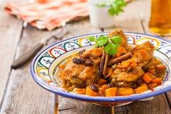 Chicken maroc Stock Image