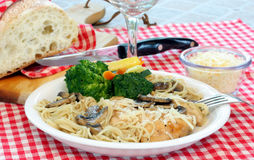 Chicken Marsala Royalty Free Stock Photos