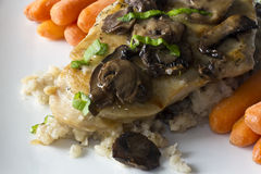 Chicken Marsala Stock Photo